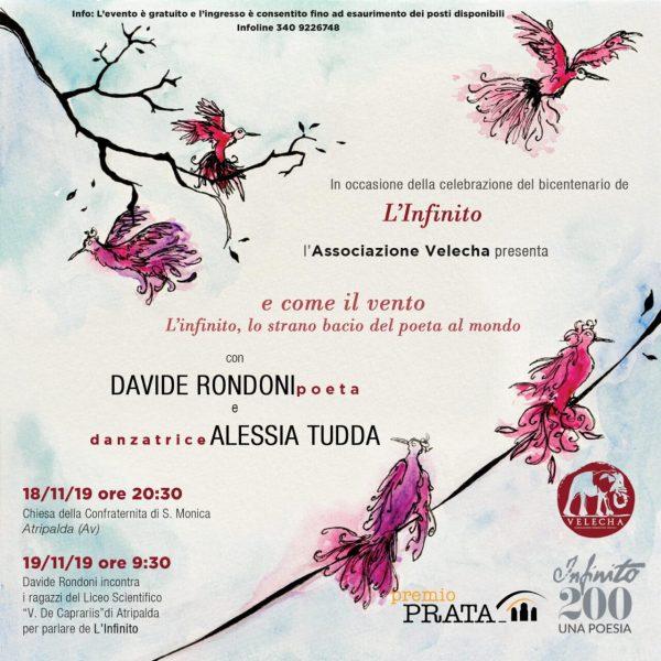 Atripalda, Davide Rondoni omaggia Giacomo Leopardi per i 200 anni de L'Infinito - https://www.irpiniatimes.it
